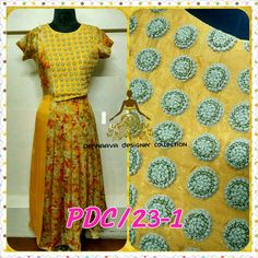 Designer stylish gown