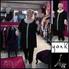 whaooooooooooooo           GI JO adore           et FRANCES aussi !!!           collection YOEK chez PARIS NEW-YORK à SAINT-LO