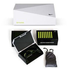 Nike eyewear case facets shape