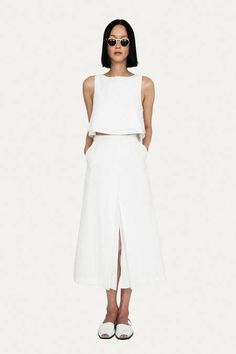 Muted Whiteout Apparel - The Apiece Apart Spring 2013 Collection is Intensely Ivory (GALLERY)