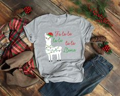 Santa Claus is Coming to Town Christmas Shirt – Simple Designs and Cute Christmas Shirts, Llama Christmas, Diy Ugly Christmas Sweater, Xmas, Christmas Diy, Ugly Sweater Run, Sweater Shirt, Santa Claus Is Coming To Town, Halloween