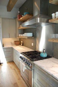 Santa Fe Historic Eastside Organic Modern Kitchen modern kitchen