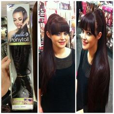 Apache Ponytail. Hairspray, Beauty Shop, Cut And Color, Ponytail, Hair Extensions, Eyelashes, Hair Beauty, Celebrities, Hair Styles