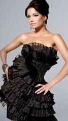 Дизайнерские платья с фантазийной юбкой