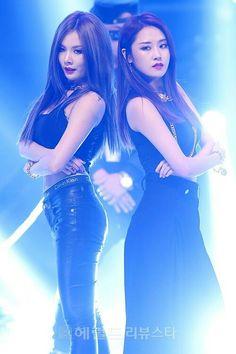 Hyuna & Gayoon