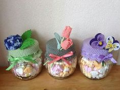 Crochet Panda, Crochet Cactus, Free Crochet, Knit Crochet, Crochet Jar Covers, Fun Crafts, Diy And Crafts, Crochet Kitchen, Sewing Dolls