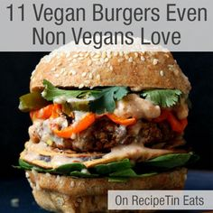 Burgers don't need meat to be great.  Gone are the days of dry, tasteless meat-free burgers. These are my favourite Vegan Burger recipes that even non-vegans love. It was supposed to be my 10... Read More »