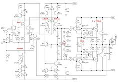 600 Watt Mosfet Power Amplifier with PCB v roku 2019