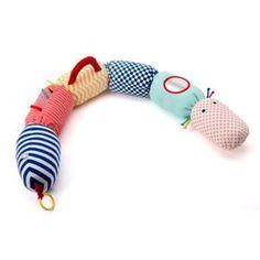 Chenille d'activités Sensibul création Oxybul pour enfant dès la naissance - Oxybul éveil et jeux