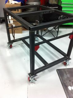 yet another welding table, recommend options - The Garage Journal Board