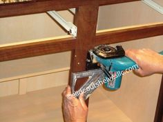 Cut Center Stile With Jig Saw Kitchen Island With Sink And Dishwasher, How To Remove Kitchen Cabinets, Kitchen Cabinet Shelves, Diy Cabinet Doors, Diy Kitchen Island, Diy Kitchen Storage, Kitchen Redo, Cabinet Ideas, Kitchen Ideas