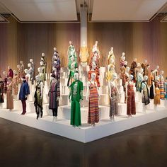 "MISSONI, ""The  Fashion and Textile Museum Exhibition called Missoni Art Colour, organised by the Museo Arte Gallarate and The Woolmark Company"", pinned by Ton van der Veer"