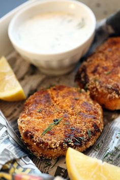 The Lusty Vegan Hearts of Baltimore Crab Cakes