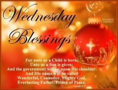 Wednesday Christmas Blessings...Thank you M, so much. Yes the Prince of Peace for sure. I love it!!! x