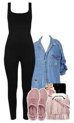 """Untitled #1746"" by toniiiiiiiiiiiiiii ❤ liked on Polyvore featuring MICHAEL Michael Kors and Rebecca Minkoff"