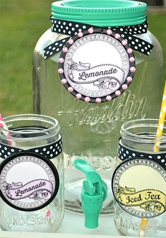 Printable Mason Jar Labels – Reader Featured Project