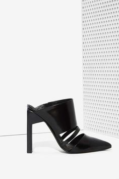 Cameo Never Say Never Leather Mule