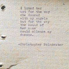 The Universe and Her and I poem 82 by Christopherspoetry on Etsy, $10.00