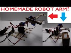 How To Make A Robot Arm Out Of Popsicle Sticks (Easy And Simple) - YouTube