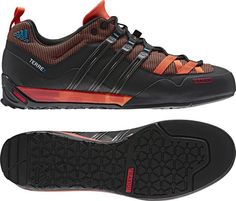 Outside's Best New Approach Shoes: Adidas Terrex Solo. Better for the rocky approach. $120.