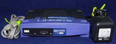 Linksys BEFSR41 V3 Etherfast Cable/DSL Router with Power Source & Ethernet Cord #Linksys