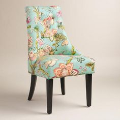 One of my favorite discoveries at WorldMarket.com: Monrovia Floral Lydia Dining Chairs Set of 2