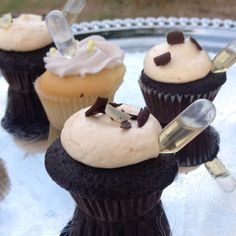 4. In June, Austin, Texas's booze-centric event offered chocolate- and lavender-flavored cupcakes with pipettes of tequila and gin inserted into the frosting.
