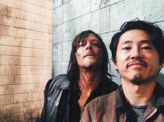 Norman and Steven
