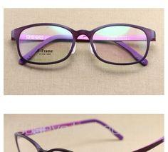 30ef6e4d84f nice Gilrs TR 90 Optical Glasses Frame for Prescription Eyeglasses Black  Red Purple Blue Frame Cute Sweet Women Glasses Frames