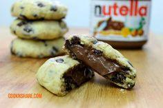 """Come preparare i cookies alla """"nutella"""": video-ricetta facile!"""