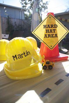 Construction Theme party ideas