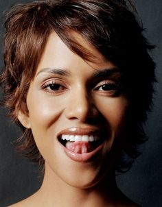 Halle Berry wholesome sexy tongue teaser