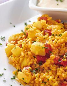 Sepia. Arroz. Verdura. Chef & Quality Spanish Kitchen, Spanish Food, Spanish Recipes, Couscous, Chefs, Quinoa, Paella, Fried Rice, Risotto