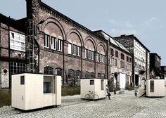 Another Small House on Tracks by Tomasz Zablotny