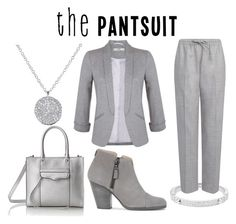 """""""The Pantsuit"""" by horselover35125 ❤ liked on Polyvore featuring Michael Kors, Miss Selfridge, Joseph, rag & bone, Rebecca Minkoff, Anne Sisteron and thepantsuit"""