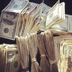 money flowing in in dollars!!!