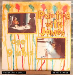SGC Anything Goes – Painting Layout – Beth's Inky Fingers