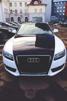 ♡ Black n White Audi ♡