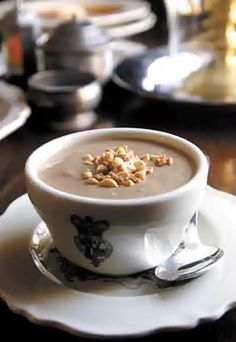 Scrumpdillyicious: Colonial Williamsburg's Cream of Peanut Soup