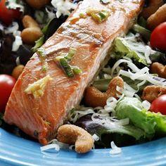 Bourbon Salmon Salad - Viking Range, LLC