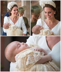 Catherine, Duchess of Cambridge carries Prince Louis as they arrive for his christening service at St James's Palace on July 2018 in London, England. Prince William Family, Kate Middleton Prince William, Prince William And Catherine, Prince Charles, Prince And Princess, Princess Kate, Princess Charlotte, Duchess Kate, Duke And Duchess