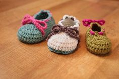 Crochet For Free: Booties