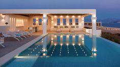 MIA I -Διώροφη εξοχική κατοικία στη Πάρο | vasdekis Paros, Luxury Villa, Mansions, House Styles, Outdoor Decor, Projects, Villas, Opera, Home Decor