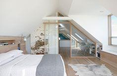 Housetour in San Francisco: Ein Loft mit Dachschrägen