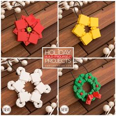 This year, festoon your Christmas tree with these delightful LEGO ornaments by Canadian LEGO artist Chris McVeign, or better known as...