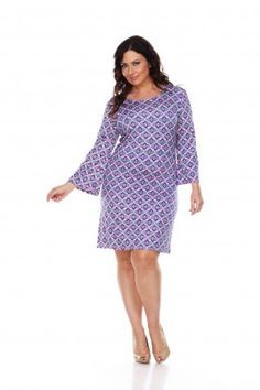 7cca96fef08 White Mark Women s Plus Size Joanna Dress
