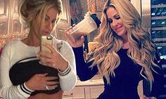 Kim Zolciak shows off TINY waistline as she plugs new cleanse #DailyMail