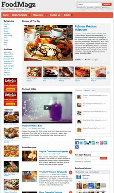 FoodMagz is a child theme of Backbone Theme Framework, specially designed for food bloggers, food junkies, restaurant bloggers or general food websites. Whether you are a new food blogger without a high budget or an experienced food blogger who value a user-friendly way to add, organize and display recipes. $69