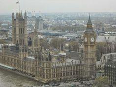 London Eye view!!