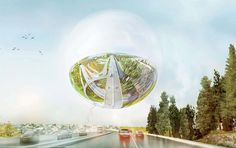 Competition-winning design for the Stockholmsporten master plan by BIG in collaboration with Grontmij and Spacescape